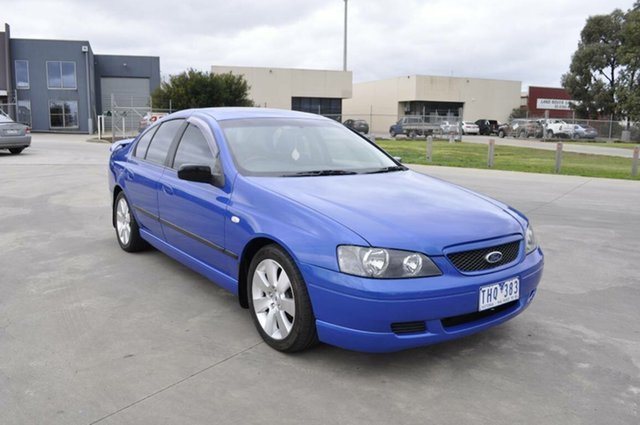 Used Ford Falcon SR, Hoppers Crossing, 2004 Ford Falcon SR Sedan