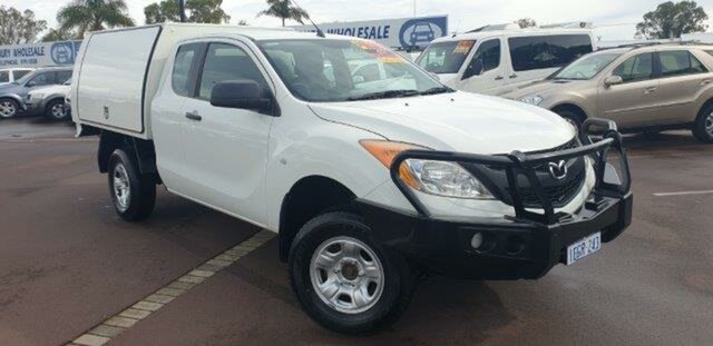 Discounted Used Mazda BT-50 XT Freestyle, East Bunbury, 2012 Mazda BT-50 XT Freestyle Cab Chassis