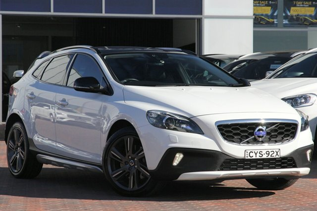 Discounted Used Volvo V40 Cross Country D4 Adap Geartronic Luxury, Warwick Farm, 2014 Volvo V40 Cross Country D4 Adap Geartronic Luxury Hatchback