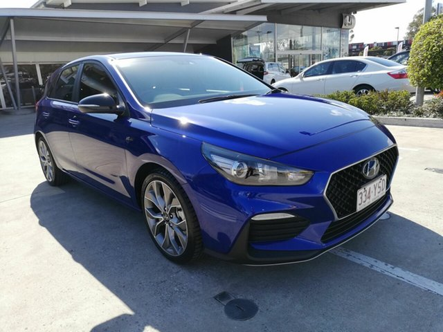 Discounted Used Hyundai i30 N Line D-CT, Yamanto, 2018 Hyundai i30 N Line D-CT Hatchback