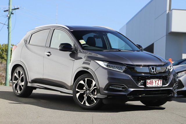Demonstrator, Demo, Near New Honda HR-V RS, Indooroopilly, 2019 Honda HR-V RS Hatchback