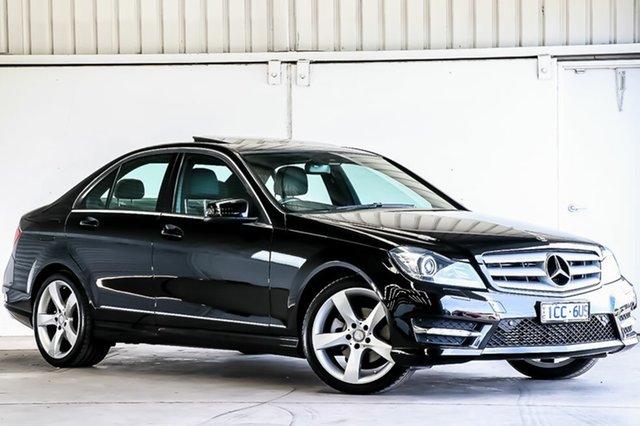 Used Mercedes-Benz C-Class C250 7G-Tronic + Elegance, Laverton North, 2013 Mercedes-Benz C-Class C250 7G-Tronic + Elegance Sedan