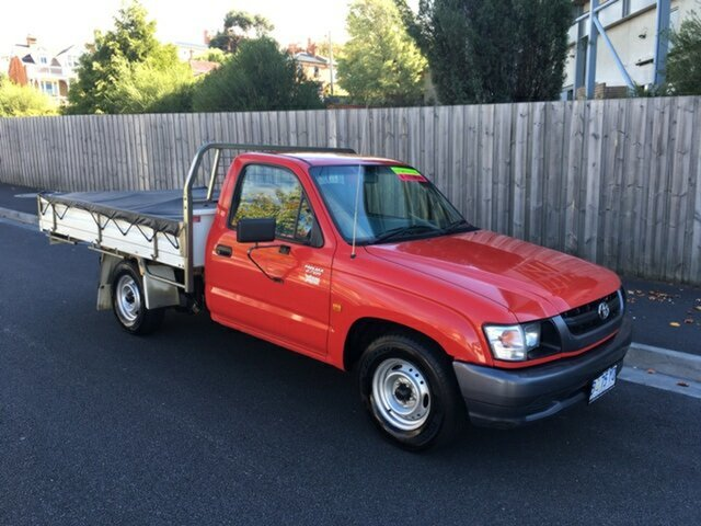 Used Toyota Hilux Workmate, North Hobart, 2004 Toyota Hilux Workmate Cab Chassis