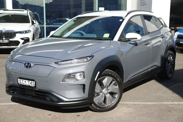 Demonstrator, Demo, Near New Hyundai Kona electric Highlander, Brookvale, 2019 Hyundai Kona electric Highlander Wagon