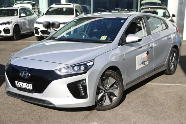 Demonstrator, Demo, Near New Hyundai Ioniq electric Premium, Brookvale, 2019 Hyundai Ioniq electric Premium Fastback