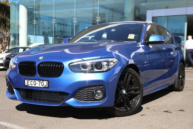 Demonstrator, Demo, Near New BMW 118i Shadow Edition, Brookvale, 2019 BMW 118i Shadow Edition Hatchback
