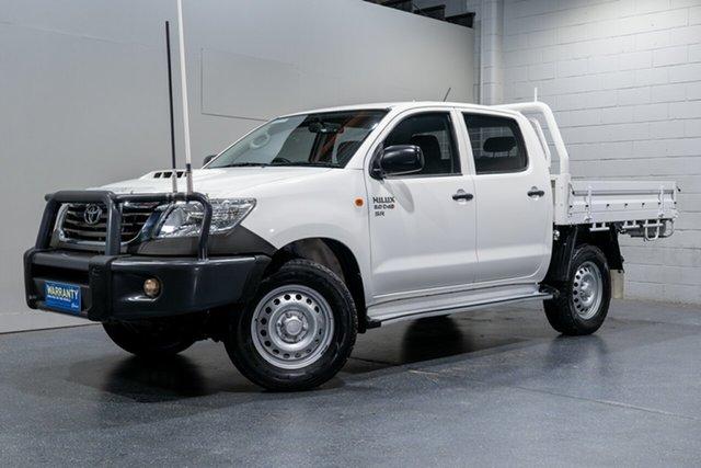 Used Toyota Hilux SR (4x4), Slacks Creek, 2014 Toyota Hilux SR (4x4) Dual Cab Chassis