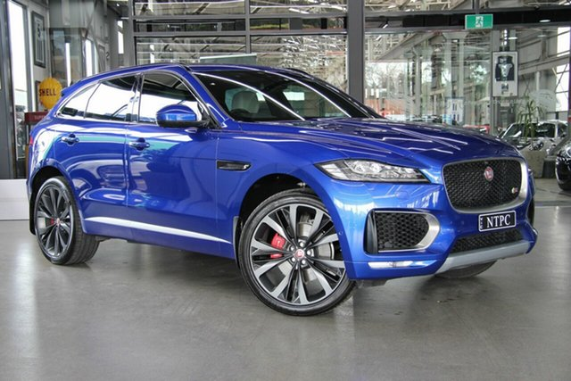 Used Jaguar F-PACE 30d AWD First Edition, North Melbourne, 2016 Jaguar F-PACE 30d AWD First Edition Wagon