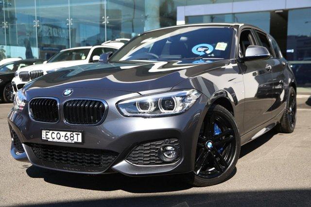 Demonstrator, Demo, Near New BMW 118i Shadow Edition, Brookvale, 2019 BMW 118i Shadow Edition Hatchback