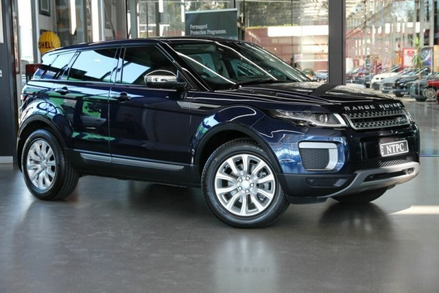 Used Land Rover Range Rover Evoque TD4 150 SE, North Melbourne, 2016 Land Rover Range Rover Evoque TD4 150 SE Wagon