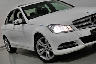 2012 Mercedes-Benz C200 BlueEFFICIENCY 7G-Tronic + Sedan.