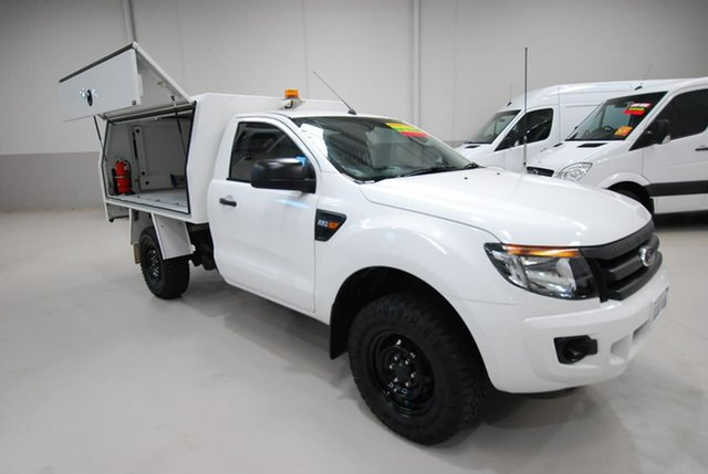 Used Ford Ranger XL 4x2 Hi-Rider, Kenwick, 2014 Ford Ranger XL 4x2 Hi-Rider Cab Chassis
