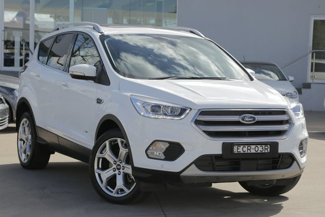 Used Ford Escape Titanium PwrShift AWD, Waitara, 2017 Ford Escape Titanium PwrShift AWD Wagon