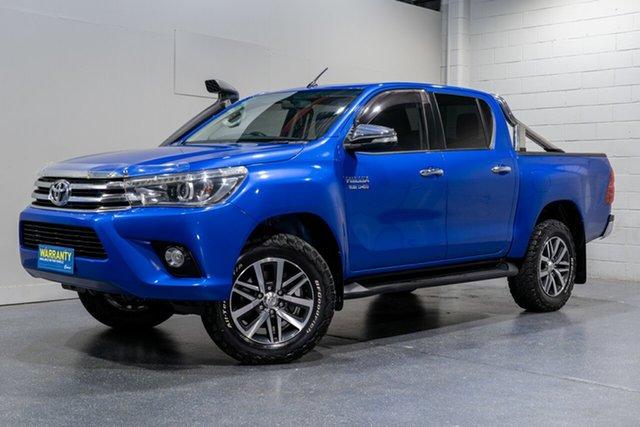 Used Toyota Hilux SR5 (4x4), Slacks Creek, 2015 Toyota Hilux SR5 (4x4) Dual Cab Utility