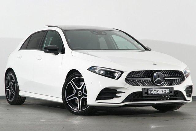 Demonstrator, Demo, Near New Mercedes-Benz A250 D-CT 4MATIC, Campbelltown, 2019 Mercedes-Benz A250 D-CT 4MATIC Hatchback