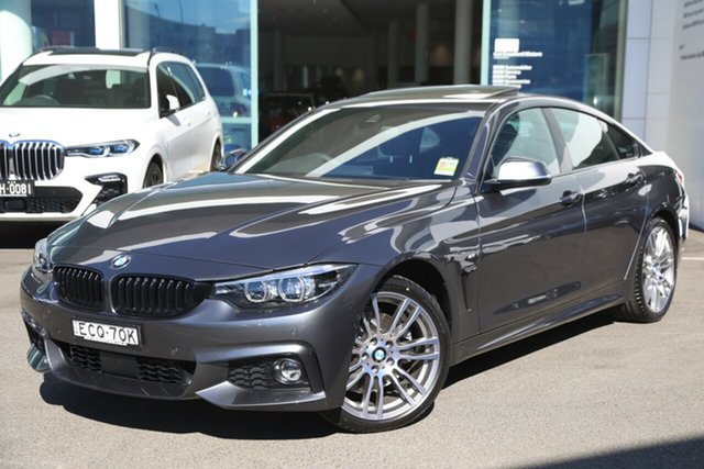 Demonstrator, Demo, Near New BMW 430i Gran Coupe M Sport, Brookvale, 2019 BMW 430i Gran Coupe M Sport Coupe
