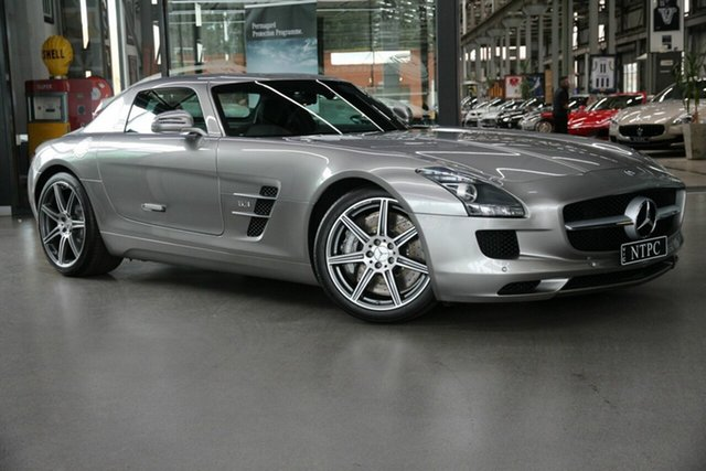 Used Mercedes-Benz SLS-Class SLS AMG SPEEDSHIFT DCT, North Melbourne, 2010 Mercedes-Benz SLS-Class SLS AMG SPEEDSHIFT DCT Coupe