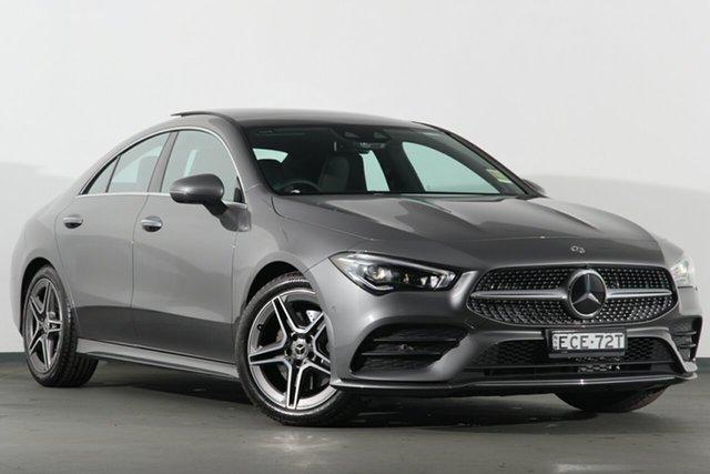 Demonstrator, Demo, Near New Mercedes-Benz CLA200 D-CT, Campbelltown, 2019 Mercedes-Benz CLA200 D-CT Coupe