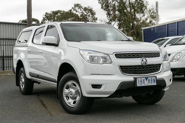 Used Holden Colorado LS Crew Cab 4x2, Oakleigh, 2016 Holden Colorado LS Crew Cab 4x2 RG MY16 Utility