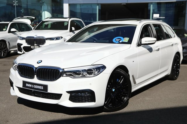 Demonstrator, Demo, Near New BMW 530i M Sport, Brookvale, 2018 BMW 530i M Sport Wagon