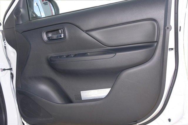 Demonstrator, Demo, Near New Mitsubishi Triton GLX+ Double Cab, Toowong, 2018 Mitsubishi Triton GLX+ Double Cab MR MY19 Utility