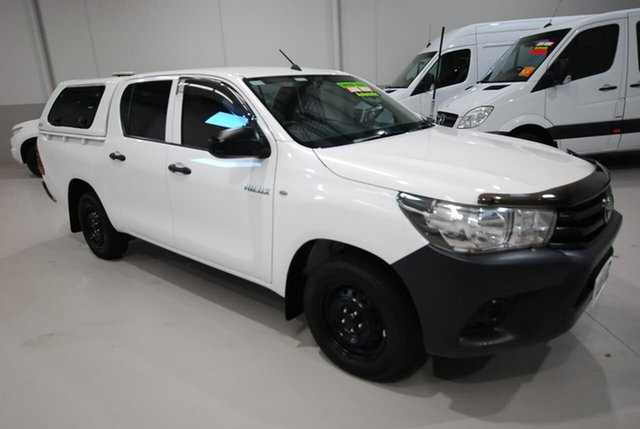 Used Toyota Hilux Workmate Double Cab 4x2, Kenwick, 2016 Toyota Hilux Workmate Double Cab 4x2 Utility