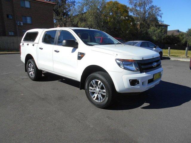 Used Ford Ranger XL 2.2 Hi-Rider (4x2), Bankstown, 2014 Ford Ranger XL 2.2 Hi-Rider (4x2) Crew Cab Pickup