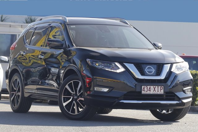 Used Nissan X-Trail Ti X-tronic 4WD, Bowen Hills, 2017 Nissan X-Trail Ti X-tronic 4WD Wagon