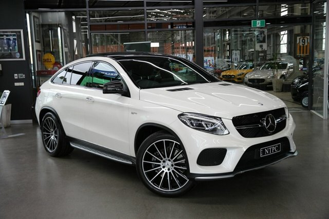 Used Mercedes-Benz GLE43 AMG Coupe 9G-Tronic 4MATIC, North Melbourne, 2017 Mercedes-Benz GLE43 AMG Coupe 9G-Tronic 4MATIC Wagon