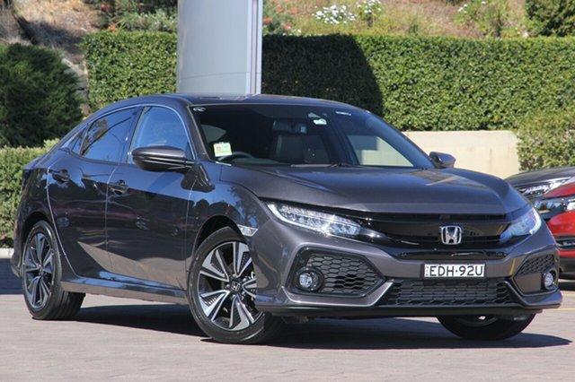 Demonstrator, Demo, Near New Honda Civic VTi-LX, Warwick Farm, 2019 Honda Civic VTi-LX Hatchback