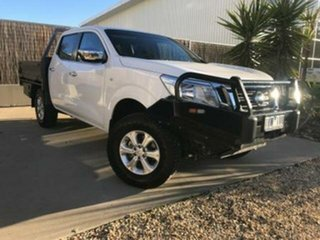 2016 Nissan Navara RX (4x4) Double Cab Chassis.