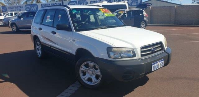 Discounted Used Subaru Forester X AWD, East Bunbury, 2004 Subaru Forester X AWD Wagon