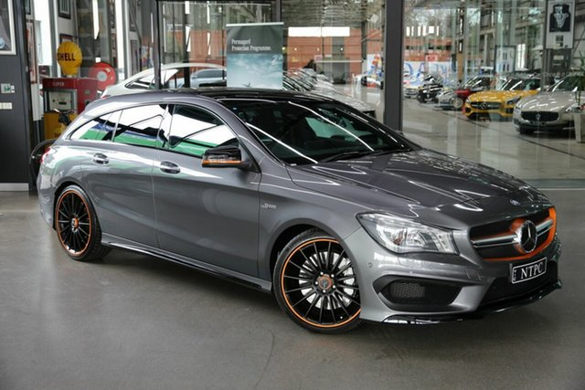 Used Mercedes-Benz CLA45 AMG Shooting Brake SPEEDSHIFT DCT 4MATIC, North Melbourne, 2015 Mercedes-Benz CLA45 AMG Shooting Brake SPEEDSHIFT DCT 4MATIC Wagon