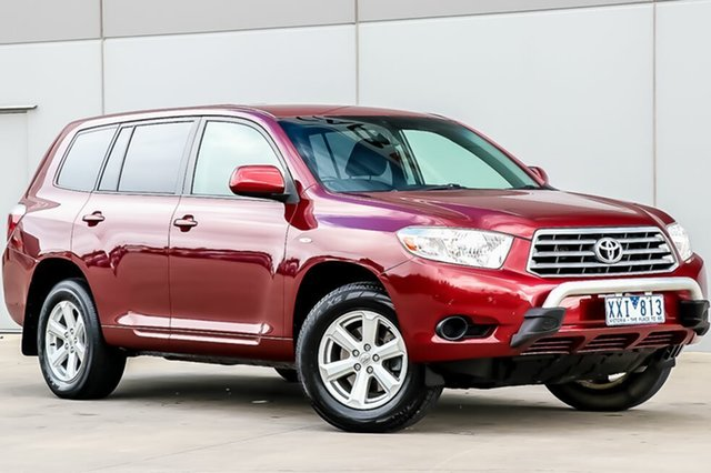 Discounted Used Toyota Kluger KX-R 2WD, Pakenham, 2010 Toyota Kluger KX-R 2WD Wagon