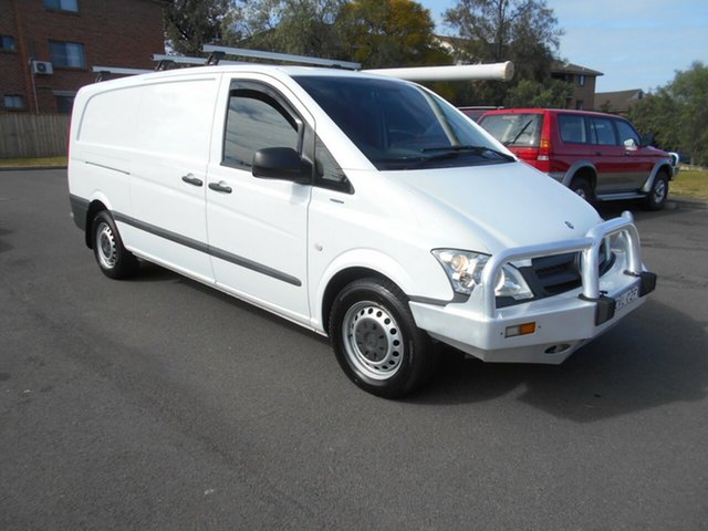 Used Mercedes-Benz Vito 116CDI LWB, Bankstown, 2015 Mercedes-Benz Vito 116CDI LWB Van