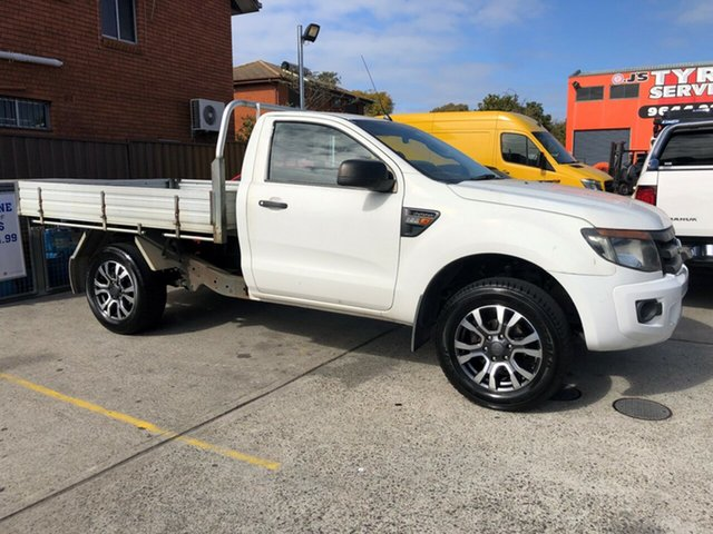 Used Ford Ranger XL 2.2 (4x4), Bankstown, 2013 Ford Ranger XL 2.2 (4x4) Cab Chassis