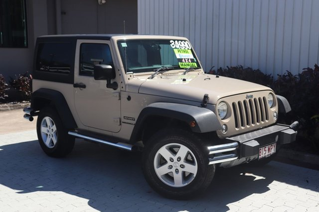 Used Jeep Wrangler Sport, Cairns, 2016 Jeep Wrangler Sport Softtop