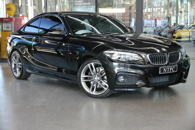 Used BMW 2 Series 220i M Sport, North Melbourne, 2017 BMW 2 Series 220i M Sport Coupe