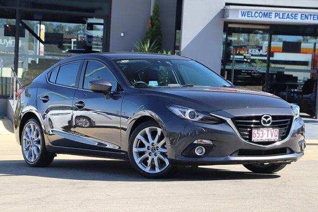 Used Mazda 3 SP25 SKYACTIV-Drive GT, Indooroopilly, 2014 Mazda 3 SP25 SKYACTIV-Drive GT Sedan