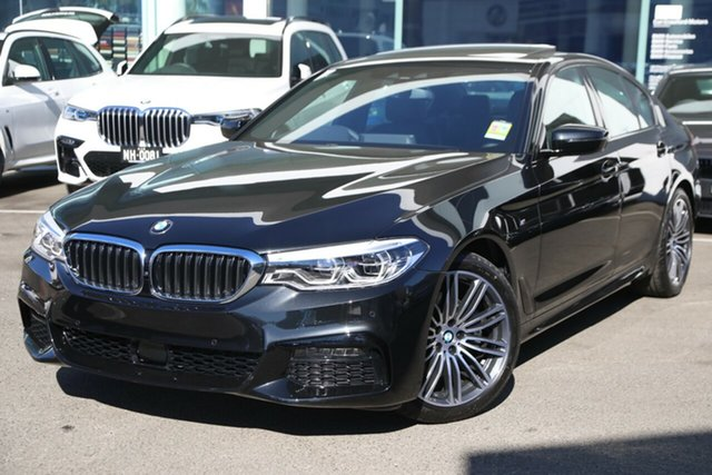 Demonstrator, Demo, Near New BMW 520i M Sport, Brookvale, 2019 BMW 520i M Sport Sedan