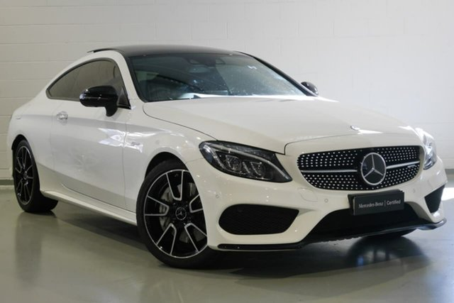 Used Mercedes-Benz C-Class C43 AMG 9G-TRONIC 4MATIC, Warwick Farm, 2016 Mercedes-Benz C-Class C43 AMG 9G-TRONIC 4MATIC Coupe