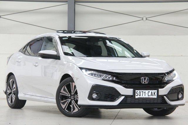 Demonstrator, Demo, Near New Honda Civic VTi-LX, Modbury, 2019 Honda Civic VTi-LX Hatchback