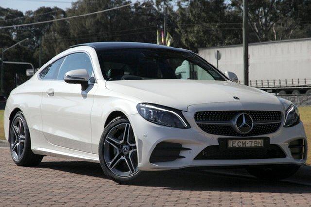 Demonstrator, Demo, Near New Mercedes-Benz C-Class C200 9G-TRONIC, Warwick Farm, 2018 Mercedes-Benz C-Class C200 9G-TRONIC Coupe