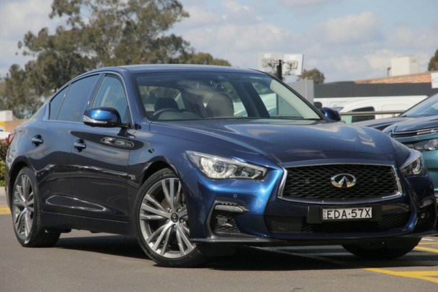 Discounted Demonstrator, Demo, Near New Infiniti Q50 3.0TT Sport, Warwick Farm, 2018 Infiniti Q50 3.0TT Sport Sedan