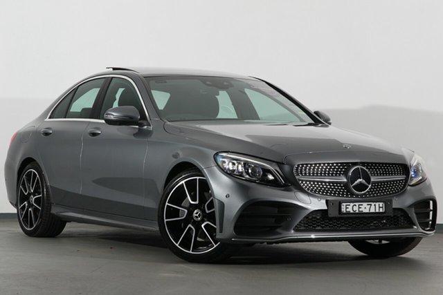 Demonstrator, Demo, Near New Mercedes-Benz C-Class C200 9G-TRONIC, Warwick Farm, 2019 Mercedes-Benz C-Class C200 9G-TRONIC Sedan