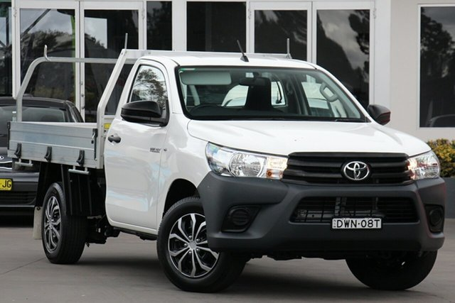 Used Toyota Hilux Workmate 4x2, Narellan, 2017 Toyota Hilux Workmate 4x2 Cab Chassis