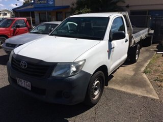 2013 Toyota Hilux (2WD) Workmate Utility.
