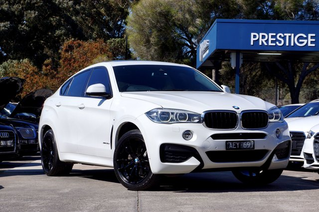 Used BMW X6 xDrive30d Coupe Steptronic, Balwyn, 2015 BMW X6 xDrive30d Coupe Steptronic Wagon