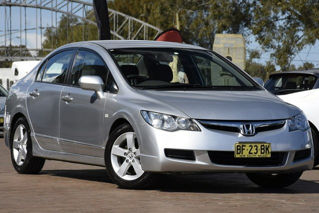 Used Honda Civic VTi, Warwick Farm, 2007 Honda Civic VTi Sedan