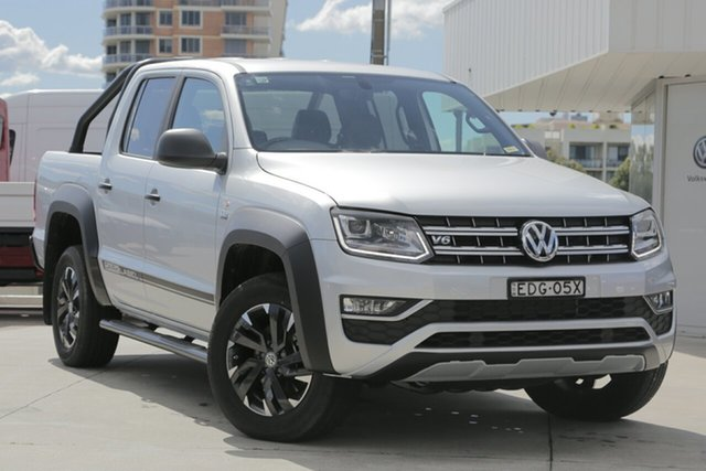 Used Volkswagen Amarok TDI550 4MOTION Perm Dark Label, Waitara, 2018 Volkswagen Amarok TDI550 4MOTION Perm Dark Label Utility